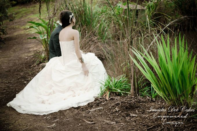 Bridal Photoshoot in the Dandenong Mountans by Innicka Dee Cakes - 012