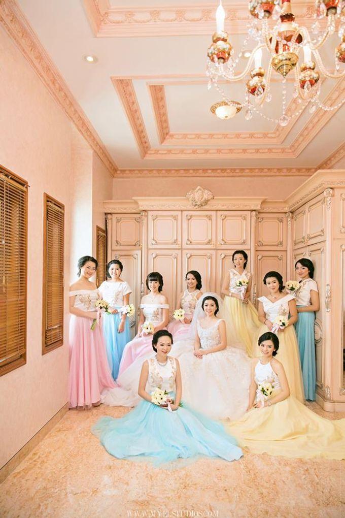WEDDING DAY FOR RUSSEL & STELLA by Fedya Make Up Artist - 008