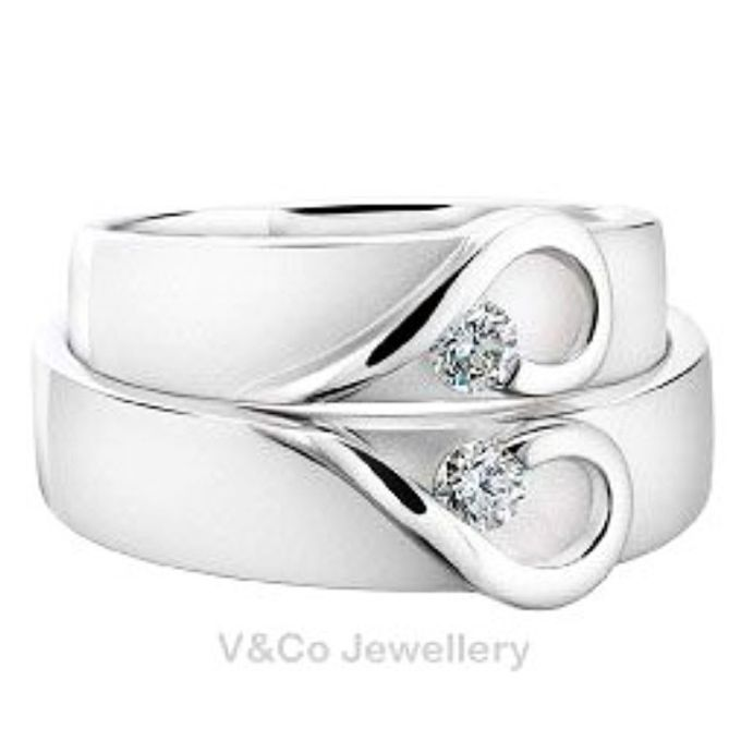 wedding ring simple Design by V&Co Jewellery - 031