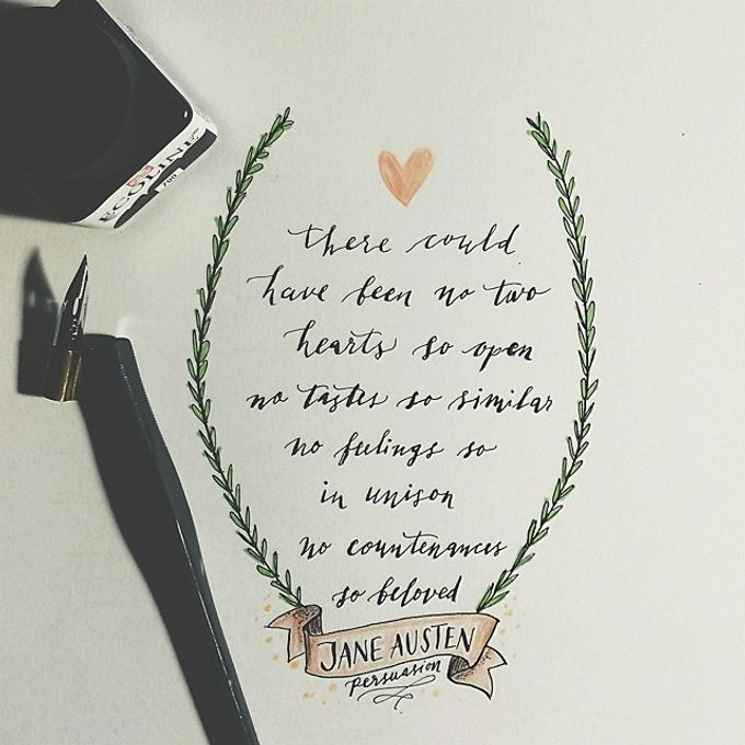 Modern Calligraphy by The Articulate - 004