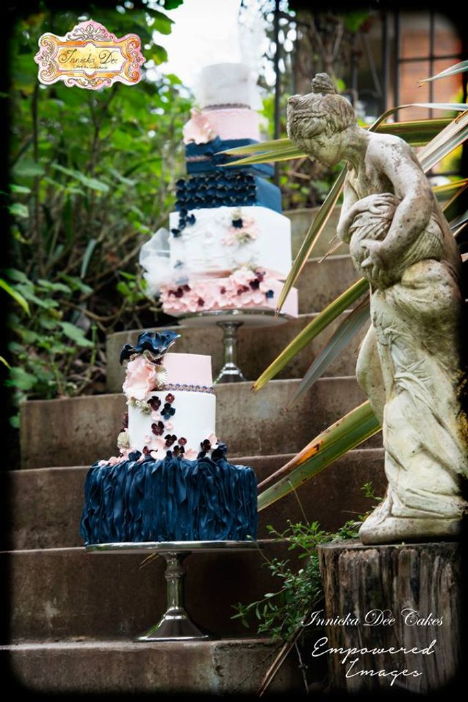 Bridal Photoshoot in the Dandenong Mountans by Innicka Dee Cakes - 014