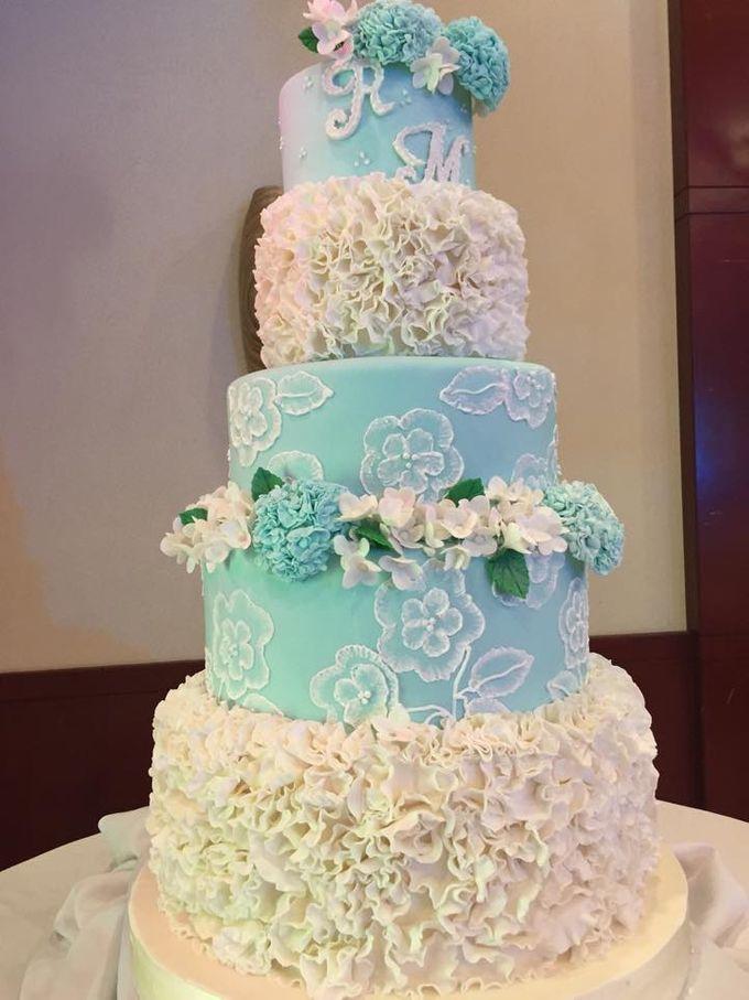 Wedding Cakes by Cupkeyk N Art - 006