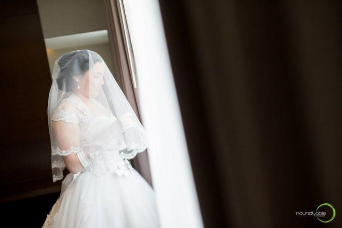 Hadi & Eveline Wedding by Adel's House of card - 019