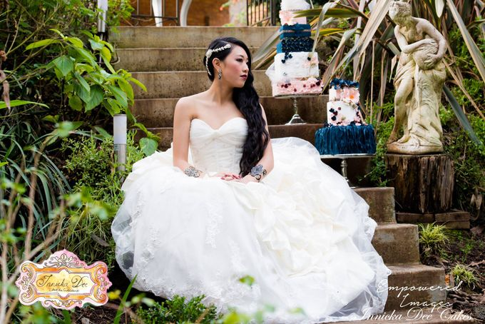 Bridal Photoshoot in the Dandenong Mountans by Innicka Dee Cakes - 015
