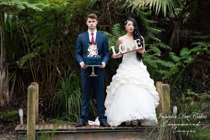 Bridal Photoshoot in the Dandenong Mountans by Innicka Dee Cakes - 016