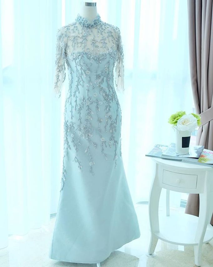 NEW ARRIVALS -EVENING DRESS by LAMIIK BRIDAL - 029
