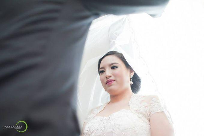 Hadi & Eveline Wedding by Adel's House of card - 020