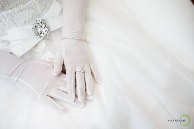 Hadi & Eveline Wedding by Adel's House of card - 021
