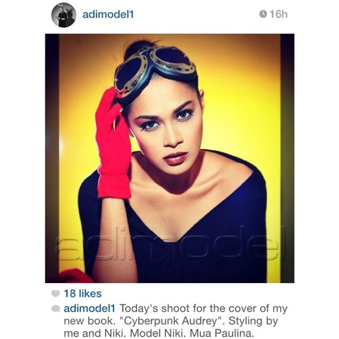 Photoshoot for Mas Adimodel's Book by makeupbypaupau - 002