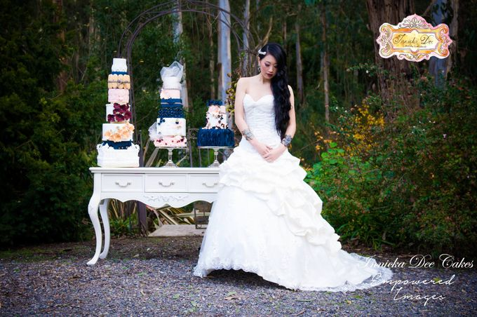 Bridal Photoshoot in the Dandenong Mountans by Innicka Dee Cakes - 020
