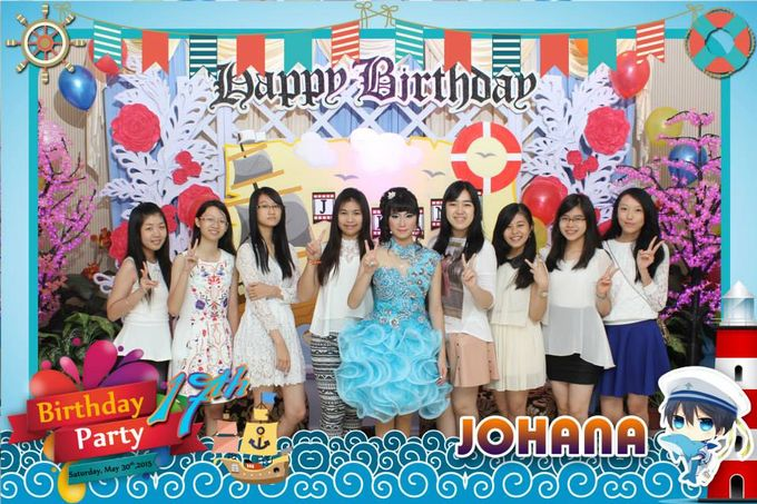 Sweetseventeen Johana Birthday Photobooth by Dinasty Photobooth - 003
