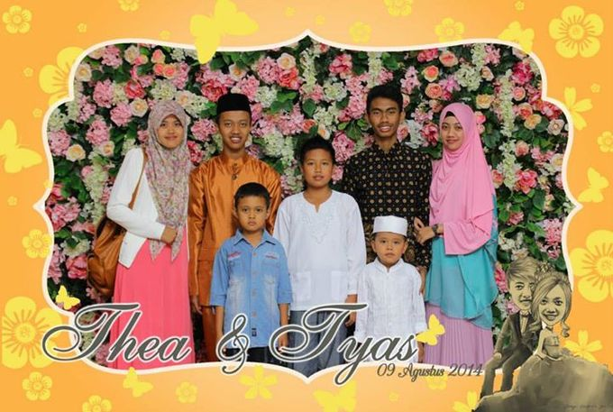 the wedding of Tyas & Thea by HELLOCAM PHOTOCORNER - 003