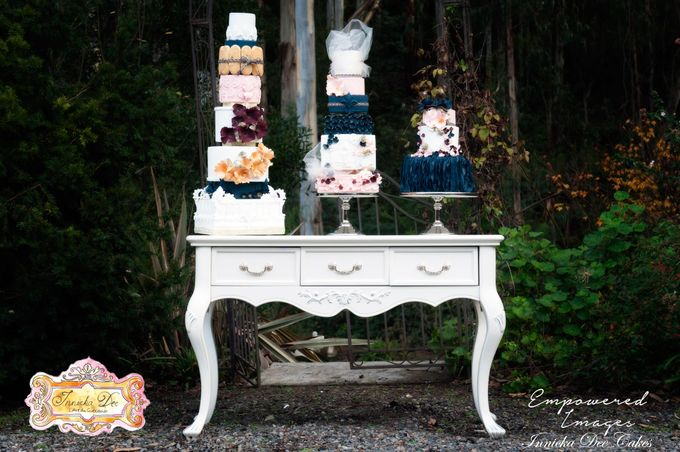 Bridal Photoshoot in the Dandenong Mountans by Innicka Dee Cakes - 021