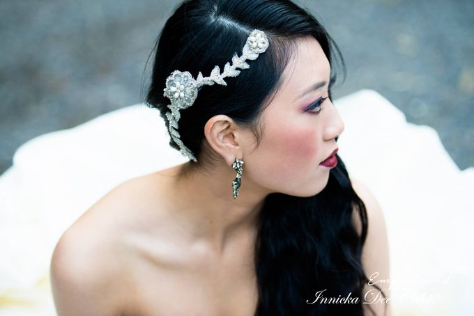 Bridal Photoshoot in the Dandenong Mountans by Innicka Dee Cakes - 022