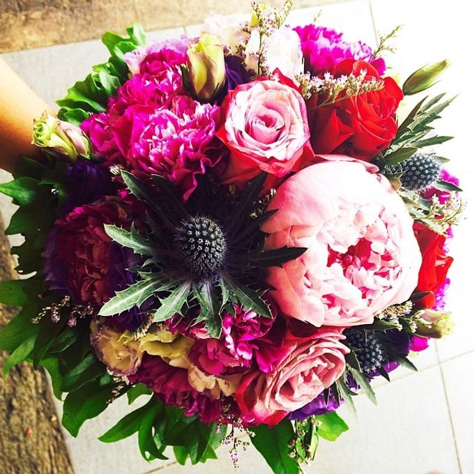 Bouquets  by Weddings by TV - 008