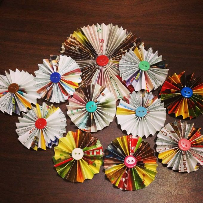 Paper Flowers by Passionately Handmade - 004