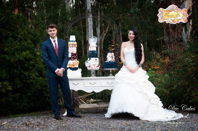 Bridal Photoshoot in the Dandenong Mountans by Innicka Dee Cakes - 027