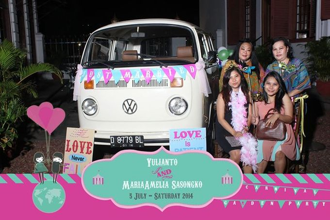 The Weddng of Yulianto & Amy by Twotone Photobooth - 100