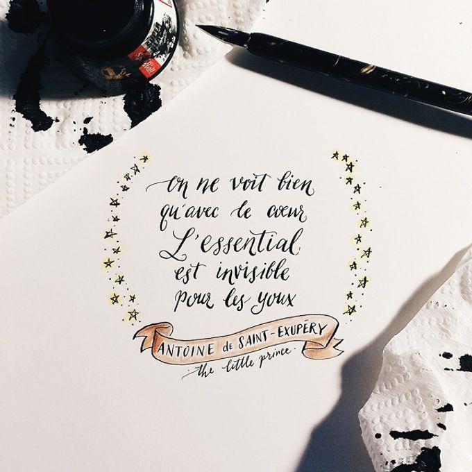 Modern Calligraphy by The Articulate - 003