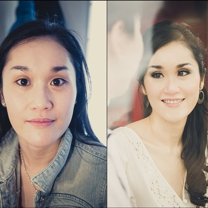 Before and After by Elly Liana Makeup Artist - 011