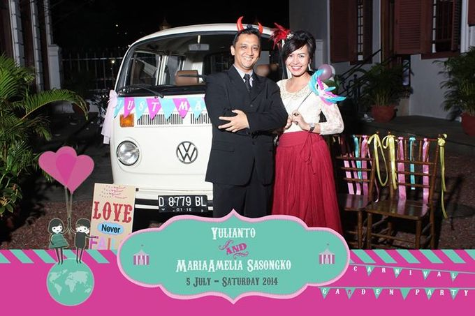 The Weddng of Yulianto & Amy by Twotone Photobooth - 070