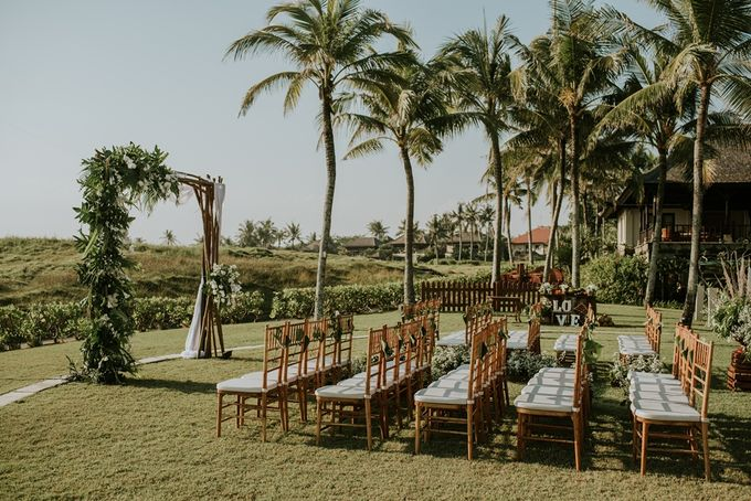 Bali Greenery Rustic with Boho Touch Wedding Decoration by Eurasia Wedding - 007
