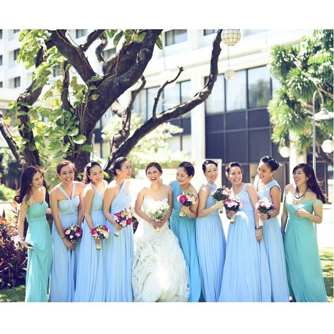 Customized Bridesmaids Dresses by White Label Bridal - 005