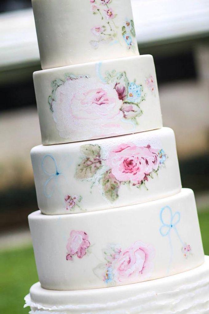 Wedding Cakes by Cupkeyk N Art - 007