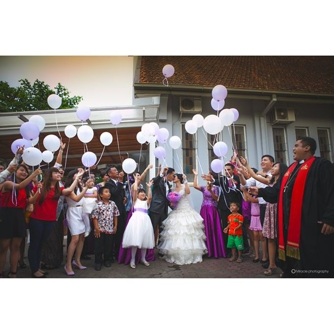 Agust + Valent wedding day by Miracle Photography - 005