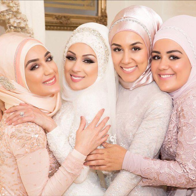 Bridal Hijab Styles by Hijab Styles By Nada - 002