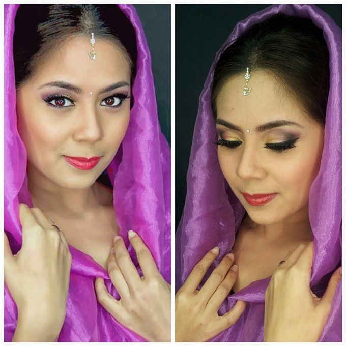 Bridal Makeup by Makeup by Lavina - 016