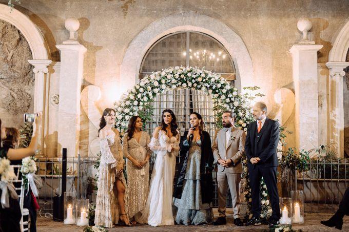 Wedding in Historical castel in Rome, Castello di Tor Crescenza by Vera Weddings - 050