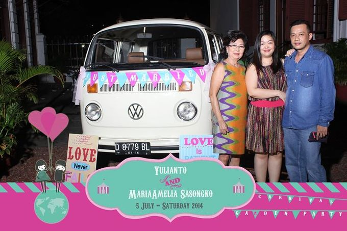 The Weddng of Yulianto & Amy by Twotone Photobooth - 030