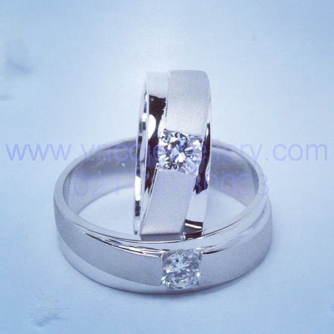 wedding ring simple Design by V&Co Jewellery - 032