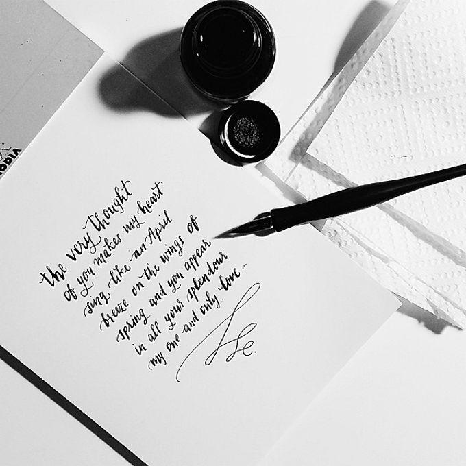 Modern Calligraphy by The Articulate - 001