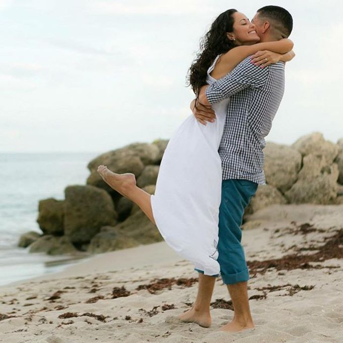 Engagement Photography in Florida by Couture Bridal Photography - 005