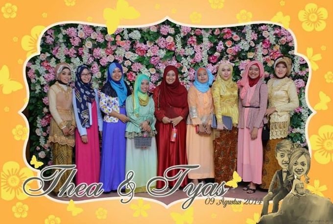the wedding of Tyas & Thea by HELLOCAM PHOTOCORNER - 005