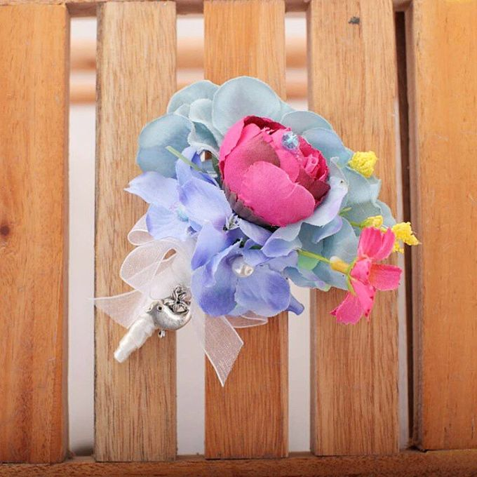 WHIMSICAL WEDDING BOUQUET by LUX floral design - 015