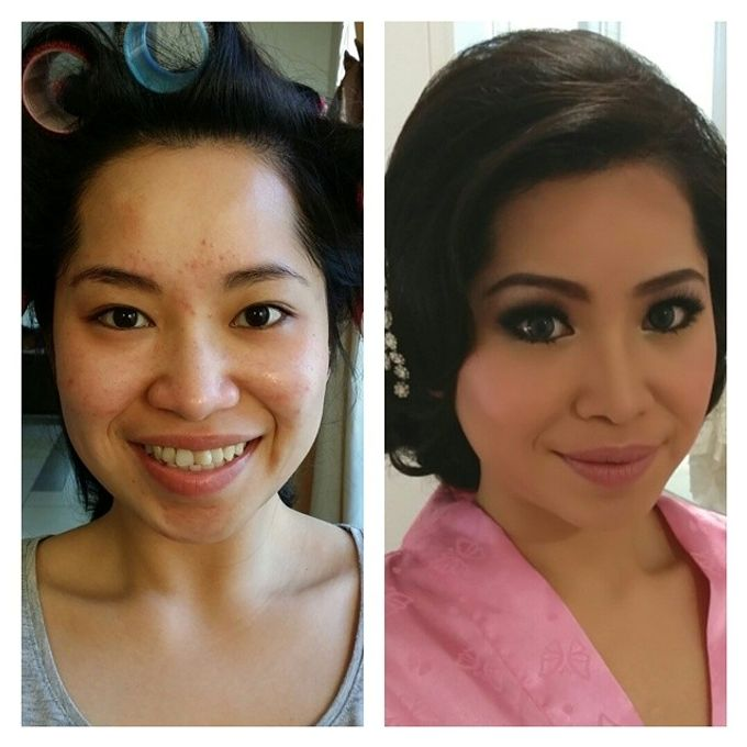 Before and After by Elly Liana Makeup Artist - 009