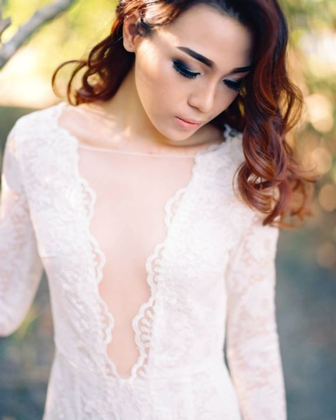 Catalyst from FLESH TO DUST Bridal Spring Summer 2015 - Lookbook by Bramanta Wijaya Sposa - 010