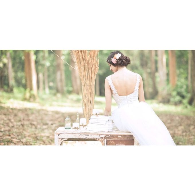 Aivy Yong Bridal Make up styling by Andrew Yep Photographie - 001