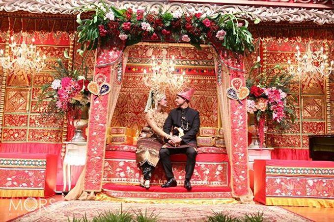 The Wedding of Nabila & Andra by Akasya Catering - 011
