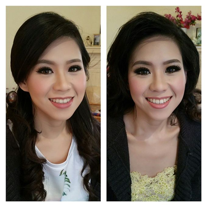 Prewedding hair and makeup by Elly Liana Makeup Artist - 005