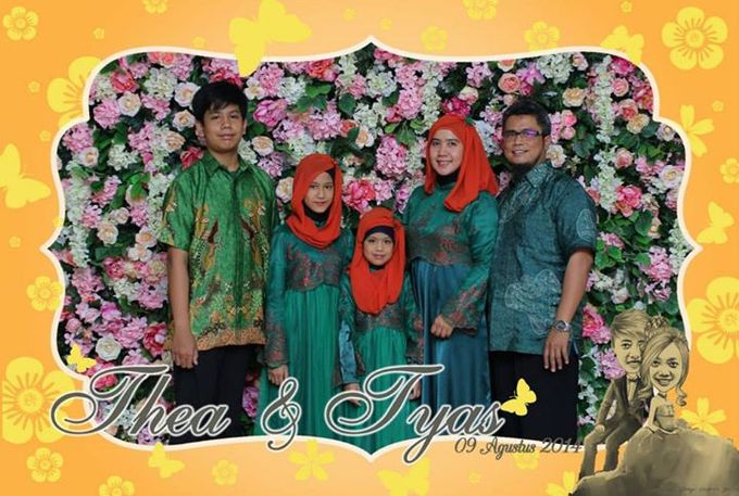 the wedding of Tyas & Thea by HELLOCAM PHOTOCORNER - 001