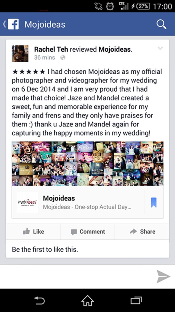 Real Wedding Testimonials by Mojoideas - 019