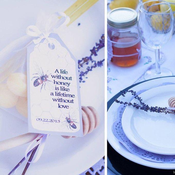 Honey+Lemon lover bridal shower  by L&A Event Designs - 001