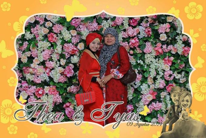 the wedding of Tyas & Thea by HELLOCAM PHOTOCORNER - 007