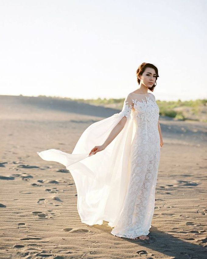 Catalyst from FLESH TO DUST Bridal Spring Summer 2015 - Lookbook by Bramanta Wijaya Sposa - 015