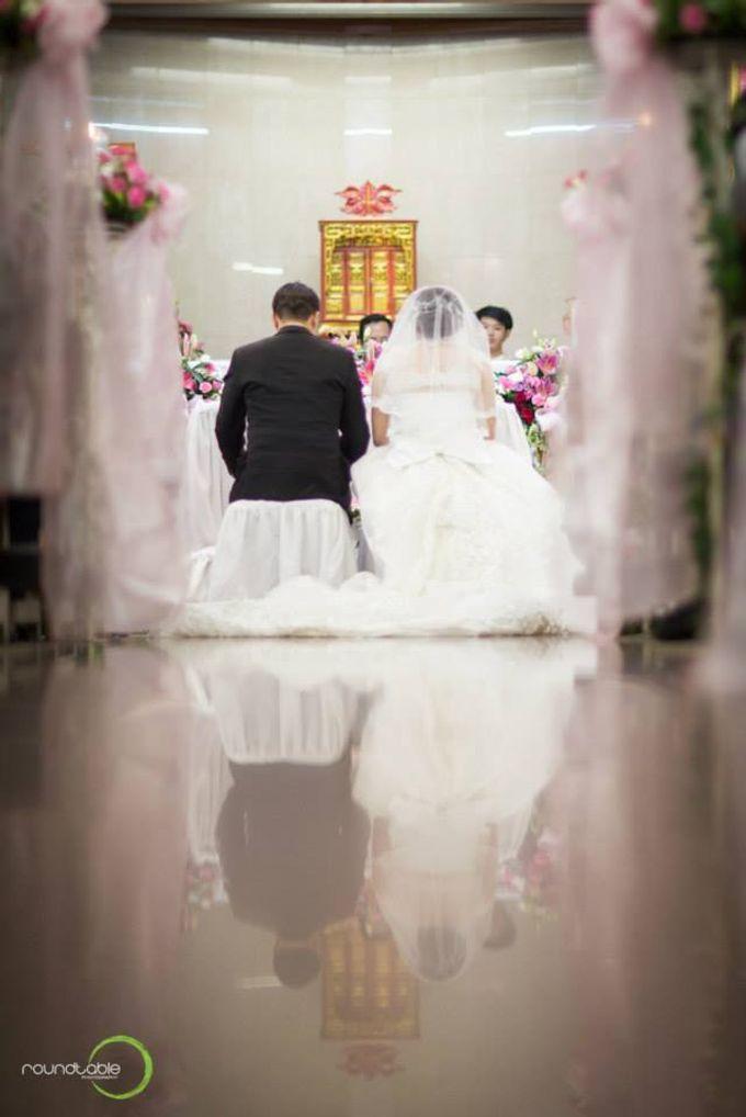 Hadi & Eveline Wedding by Adel's House of card - 025