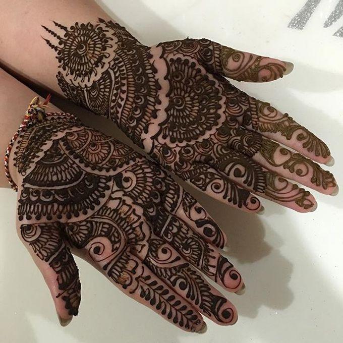 Bridal Henna - Arabic by Nakreze Mehndi - 012